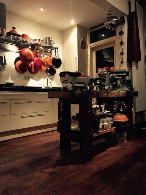Werkbank in de keuken