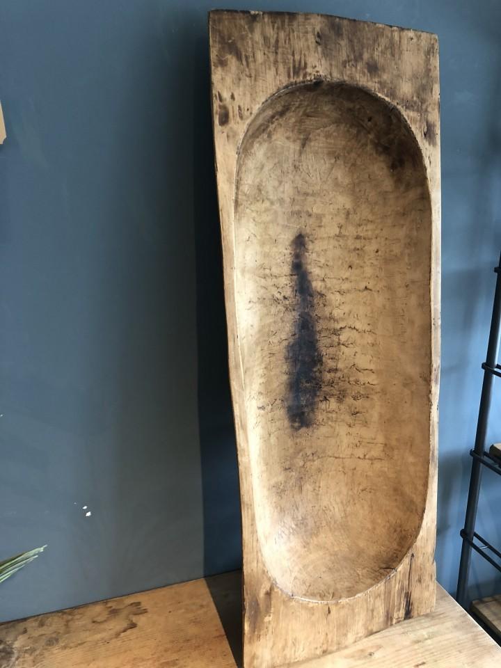 foto de Oude houten grote trog Vindustrial