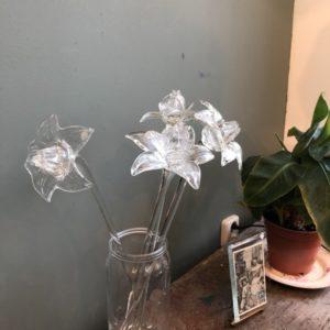 glazen bloem