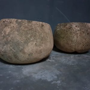 Cuisson de la pierre antique