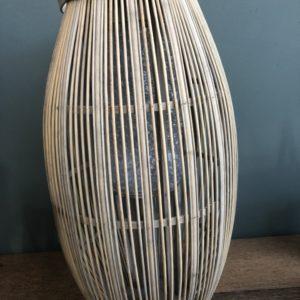 Mooie houten windlicht van Broste Copenhagen
