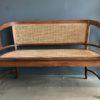 Tweezits houten bank
