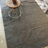 Grijze handgewezen tapijt