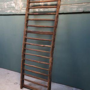 Grote oude eiken Franse boerderij hek (trap)