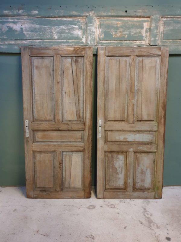 Mooie oude eiken deuren