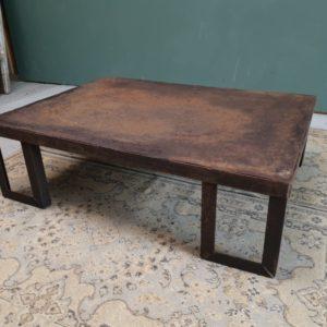Stalen salontafel