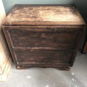 Mooie oude houten kist