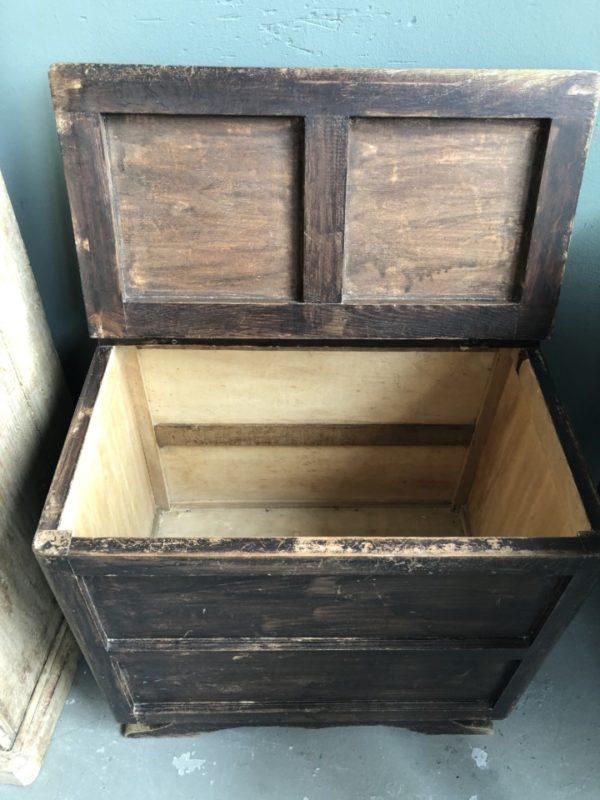 Mooie Houten Box.Mooie Oude Houten Kist