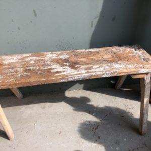 Frans boeren houten bankje
