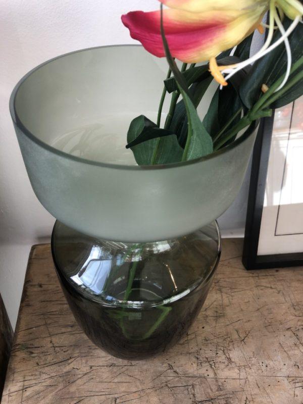 Glazen vaas van Broste Copenhagen