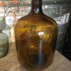 Mooie oude hoge bruine fles/vaas