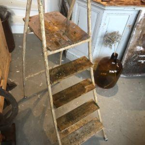 Industriele oude trap/ladder