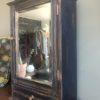 Oud hollands hangkastje met spiegel