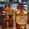 Oude apothekerspotten