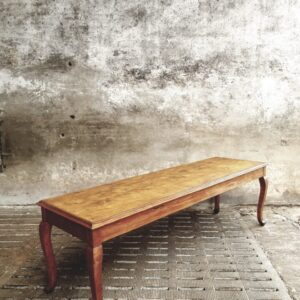 Old long wooden table 50s