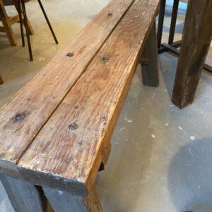 Промышленная скамья или приставной столик