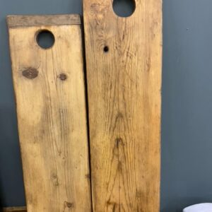 Mooie oude houten broodplanken